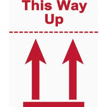This Way Up Label (500)